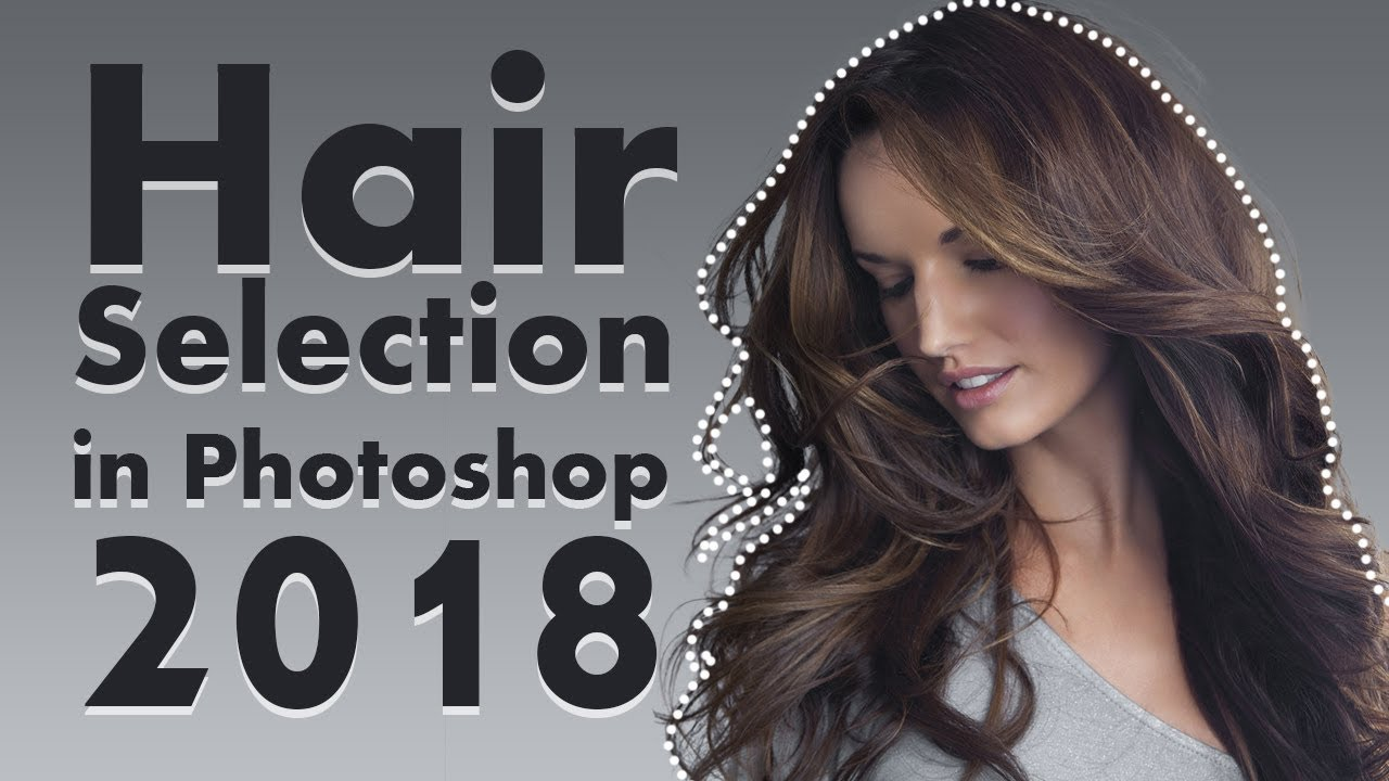 How to Cut Out Hair In Photoshop CC 12