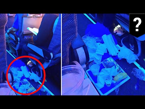Airline passenger roasted after photo of rude behavior goes viral - TomoNews