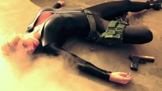Bond Girl-Diana Tyuleneva - making of scene Captured -Harley Davidson