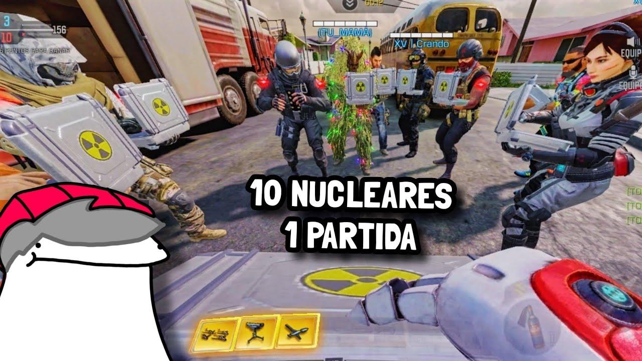 Tiramos 10 NUCLEARES al mismo tiempo en Call of Duty: Mobile.