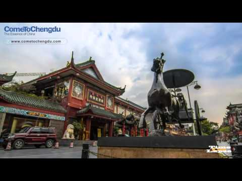 Time-lapse Shooting Of Chengdu