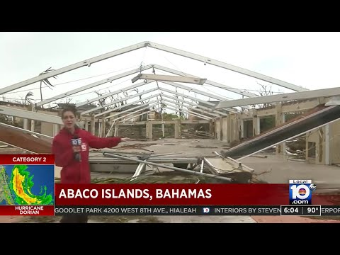 Local 10's Jenise Fernandez gives firsthand look at damage, devastation on Great Abaco