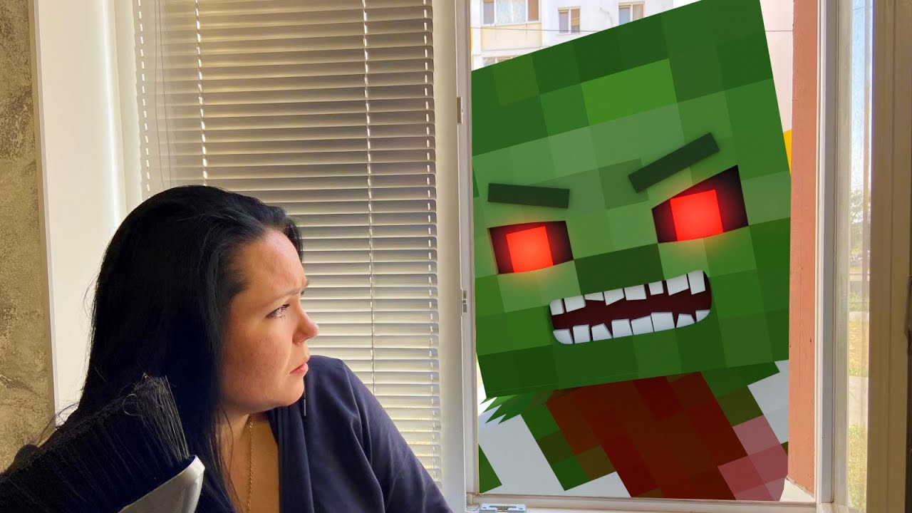 Real Life : Zombies in the City - Minecraft Animation