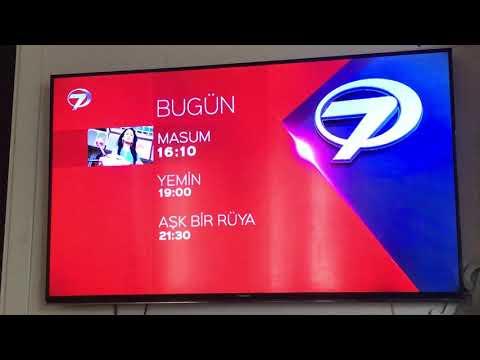 Kanal 7-yayın akışı,yabancı dizi,akıllı işaretler jenerigi 2-7yaş ve üzeri (2020