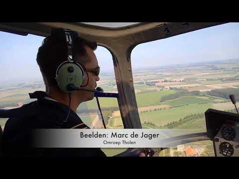 Helikoptervlucht OT Braderie 2017