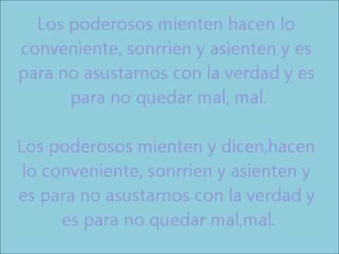Los poderosos - Francisca Valenzuela LETRA