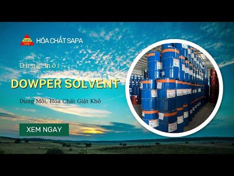 Hóa chất giặt khô Dowper Solvent mới nhất 2018