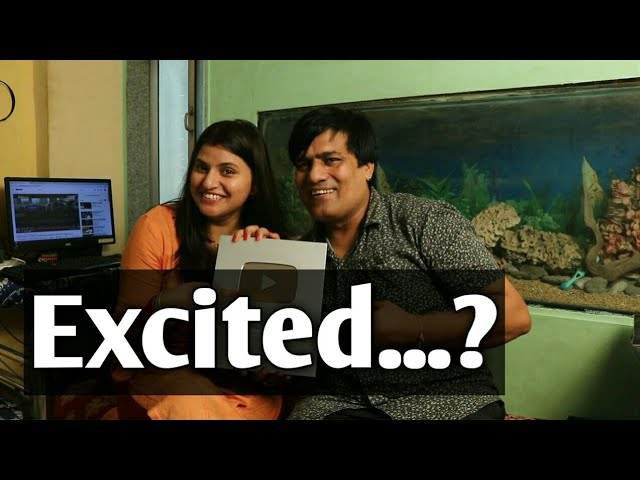WOW 😱 Silver Play Button Finally Received Feeling Happy |Silver Play Button Unboxing | Bhojpuri Adda