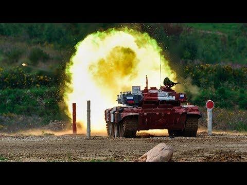 Танковый биатлон. Финал. Смотрите прямую трансляцию 17 августа