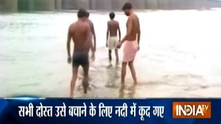 Seven Youth Drowned Into Ganga River While Saving Drowning Friend