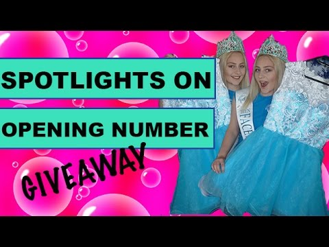 Spotlights On | Face of the Globe Opening Number + GIVEAWAY | Emily Martin