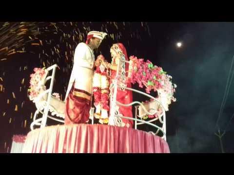 Jaimala round stage Sheohar with deepak-puja