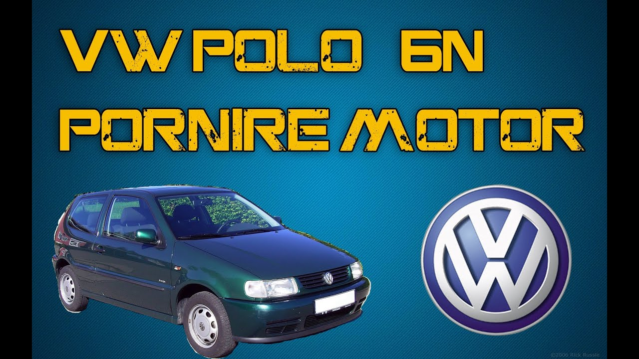vw polo 6n 1999 pornire motor 1 4 youtube. Black Bedroom Furniture Sets. Home Design Ideas