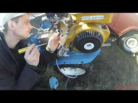 Двигатель работает рывками - причина не стабильной работы моего мотоблока Нева