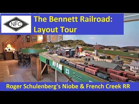 Layout Tour: Roger Schulenberg's Niobe & French Creek RR
