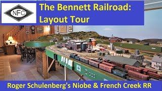 Layout Tour: Roger Schulenberg's Niobe & French Creek RR thumbnail
