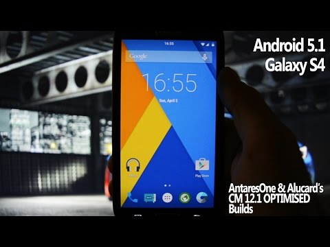 ANDROID 5.1 on GALAXY S4 - AntaresOne & Alucard24's optimized CM12.1 - WICKED ANDROID HD
