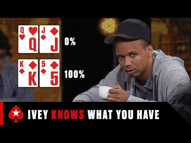 TOP 3 Reasons Why Phil Ivey is the MOST FEARED Poker Player ♠️ Best Poker Moments ♠️ PokerStars