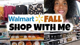 Walmart Fall Shop With Me / Affordable Fall Clothing / Fall Decor /🍁🎃 VLOGTOBER DAY 14