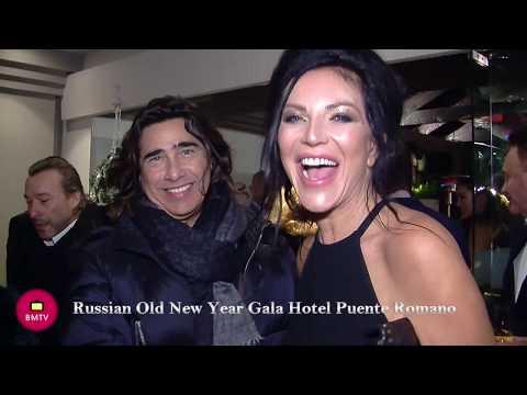 Russian Old New Year Gala Hotel Puente Romano Marbella Fiesta De Año Viejo Año Nuevo Ruso