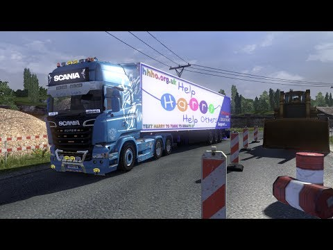 Euro Truck Simulator 2 EPISODE 106 FLU NEARLY GONE YAY