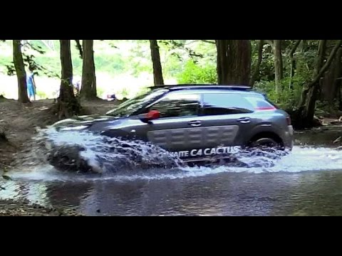 Citroen Cactus C4 - off-road ride