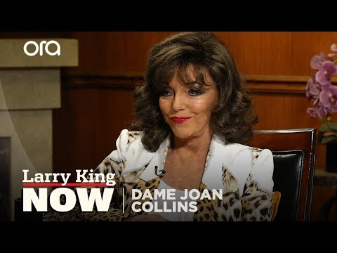Joan Collins details her experience becoming 'Dame'