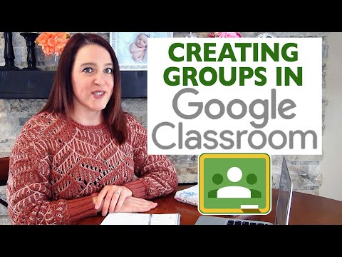 How to Create Groups in Google Classroom | Teaching from a Distance EP 1