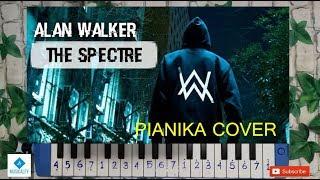 THE SPECTRE - ALAN WALKER Not Angka Pianika