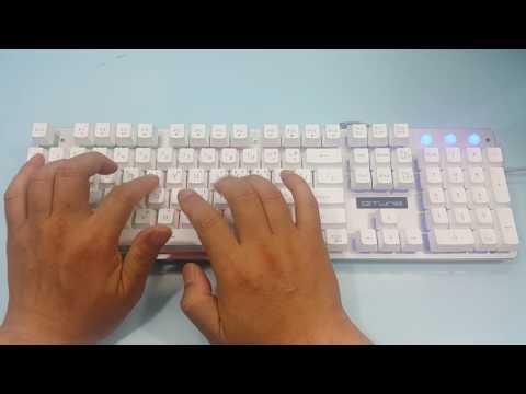 한성컴퓨터 GTune MBF77 Vision  타건영상