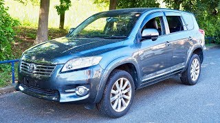 2012 Toyota Vanguard (Kenya Import) Japan Auction Purchase Review