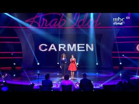 arab-idol---ep27---كارمن-و-دنيا