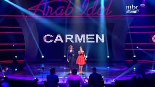 Arab Idol - Ep27 - كارمن و دنيا