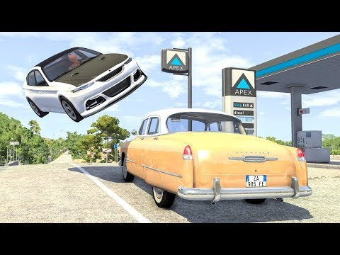 High Speed Traffic Crashes #25 - BeamNG Drive | CrashBoomPunk