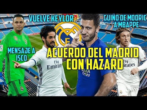 ACUERDO HAZARD REAL MADRID | GUIÑO DE MODRIC A MBAPPE | MENSAJE DE SOLARI A ISCO thumbnail