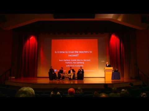 Is it time to trust teachers, London Festival of Education
