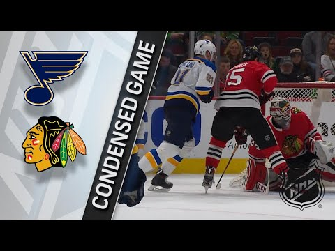 03/18/18 Condensed Game: Blues @ Blackhawks