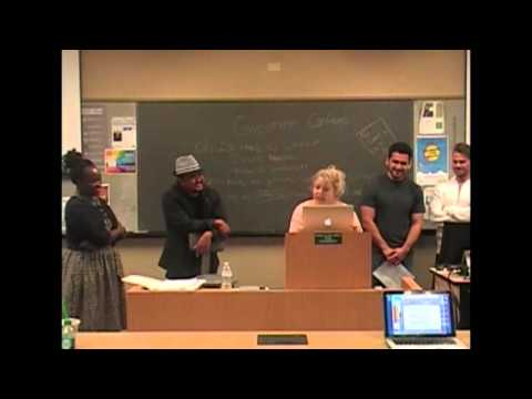 Students rap in Professor Chatman's class about Conflicts of interest(Stetson University Law School)