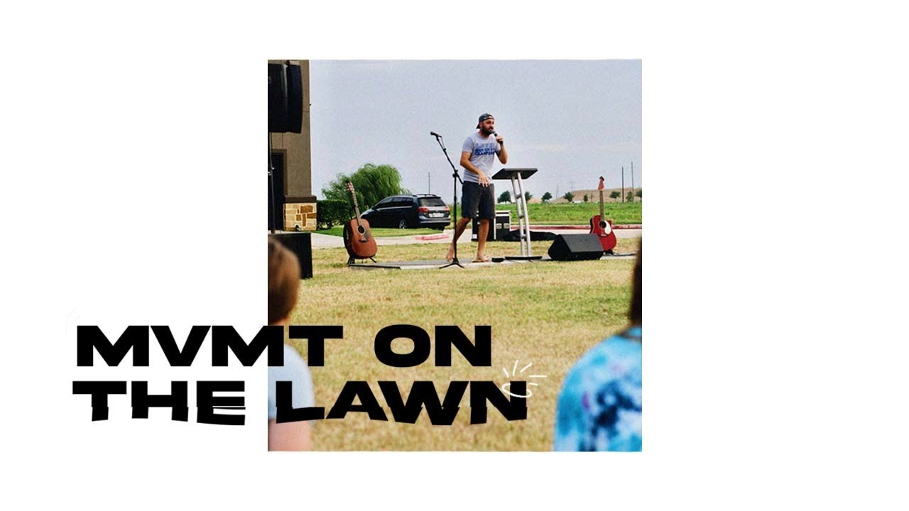 MVMT ON THE LAWN: JESUS STOPPED THE FISH