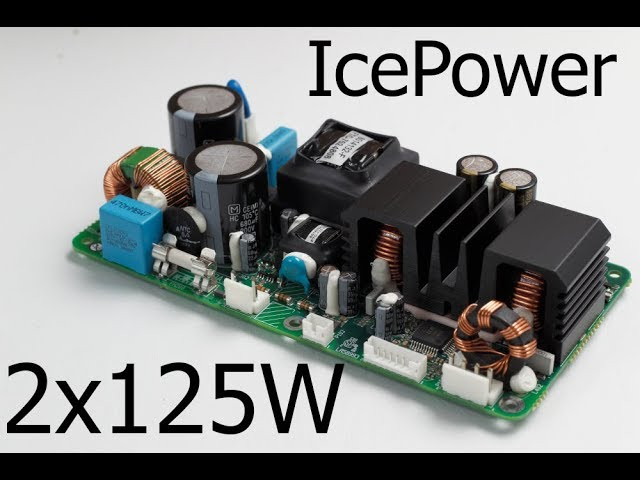 IcePower Class-D 2x125W