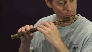 TradLessons.com - The Rose in the Heather (Bamboo Flute)