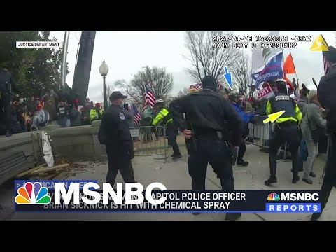 New Body Cam Footage From Jan. 6th Assault On Capitol   MSNBC