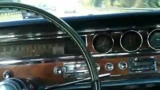 1965 Pontiac Bonneville driving