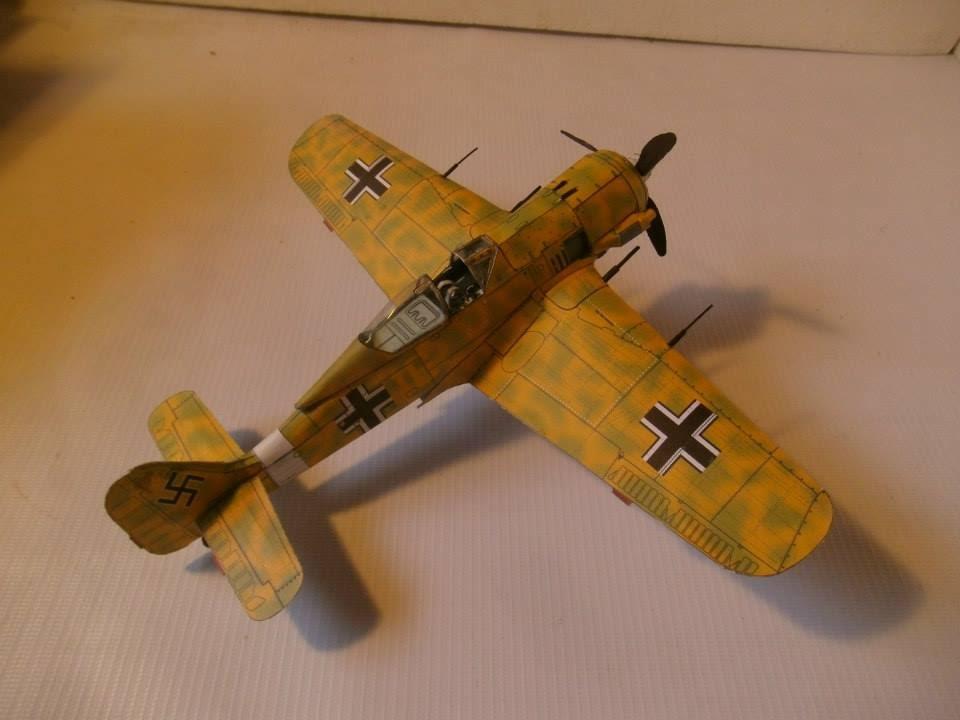 Papercraft FW 190 PAPERCRAFT Bestpapermodel, Papercraft, paper model