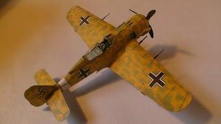 FW 190 PAPERCRAFT Bestpapermodel, Papercraft, paper model