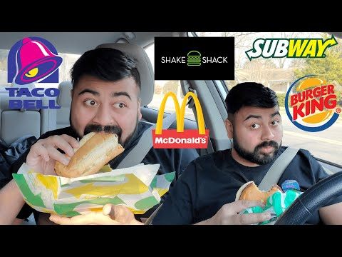 Eating Vegetarian Fast Food For The First Time *GONE IMPOSSIBLE*