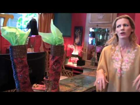 New Tracy Porter Decorating Video... Layers Of Bohemia