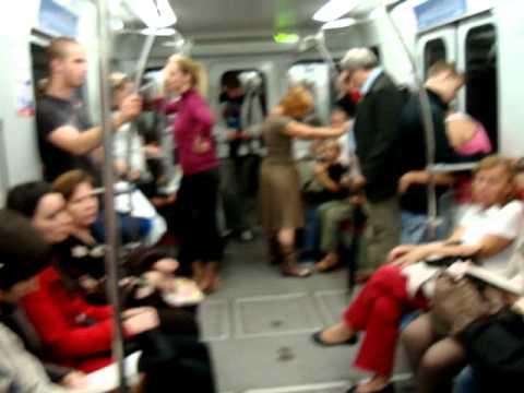 Warsaw, Poland subway