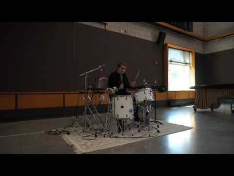 Monkey Chant by Glenn Kotche - Alistair Gardner's Junior Recital