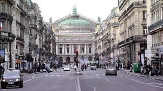 Paris Sunday Traffic